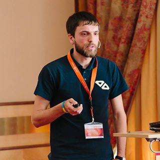 Eltrino's CEO Sergey Lysak at Meet Magento Germany 2015 had a speech about customers support