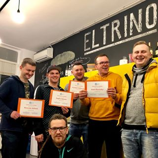 The first Eltrino Academy graduation